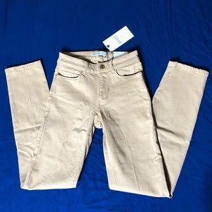 Khaki Zara skinny jeans